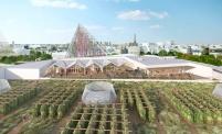 Paris : La plus grande ferme urbaine en toiture au monde